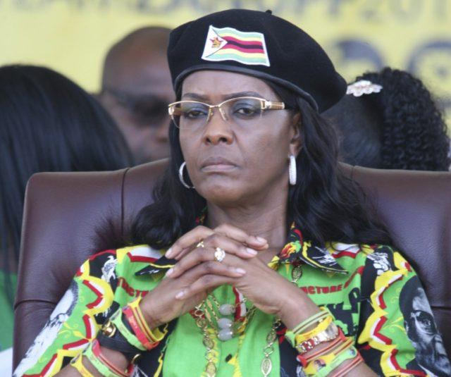 Police 'closing in' on Grace Mugabe in ivory probe: state media