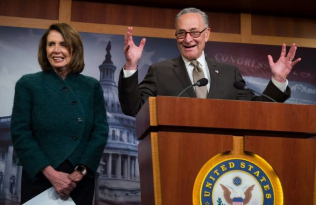 US Democrats, led by House Minority Leader Nancy Pelosi and Senate Minority Leader Chuck Schumer, are hoping for a strong enough showing in November's mid-term elections to regain control of Congress