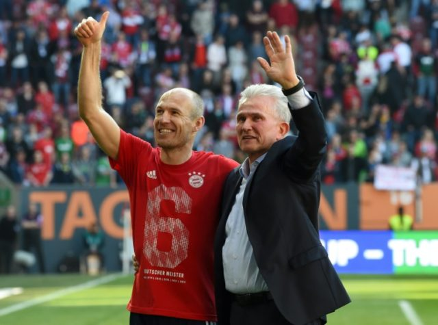Arjen Robben is considering leaving Bayern Munich despite helping the club to a sixth straight Bundesliga title