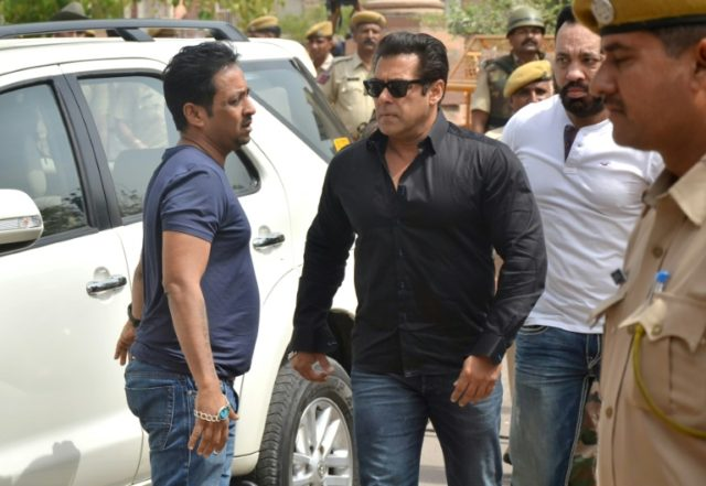 Salman Khan has accused Rajasthan's forest department of trying to frame him