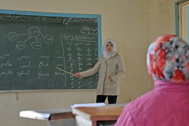Since a Syrian government offensive ousted the jihadists from Deir Ezzor city and nearby territory in late 2017, teachers and pupils alike have rushed back to the classroom