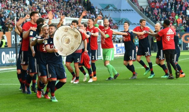 Bayern Munich have now won the German league 28 times in their illustrious history