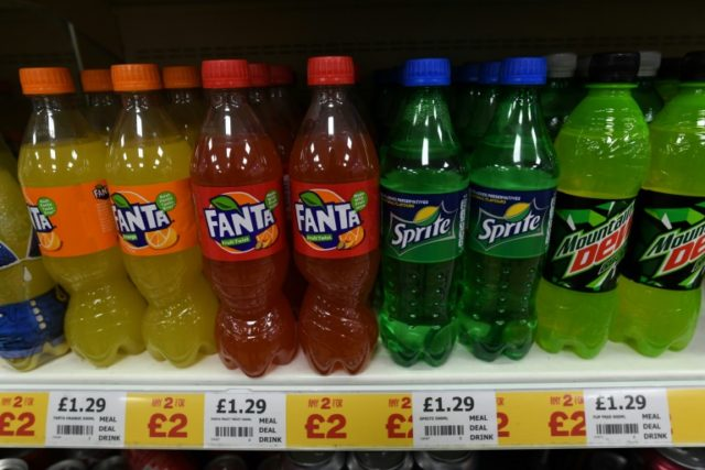 "British children consume ""nearly a bathtub of sugary drinks each year on average"""
