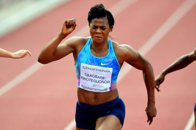 Blessing Okagbare has been in fast form already in 2018 as the Nigerian seeks to defend her 100 metres and 200 metres Commonwealth Games titles