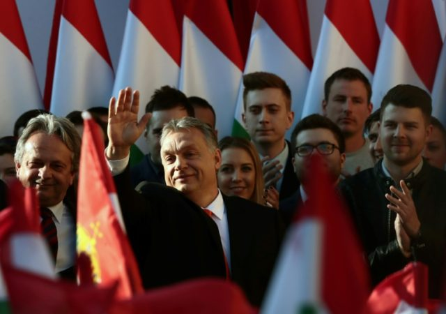 Hungarian Prime Minister Viktor Orban's Fidesz party is set for an overwhelming victory with latest polls putting them 20 or more points clear of their nearest rivals