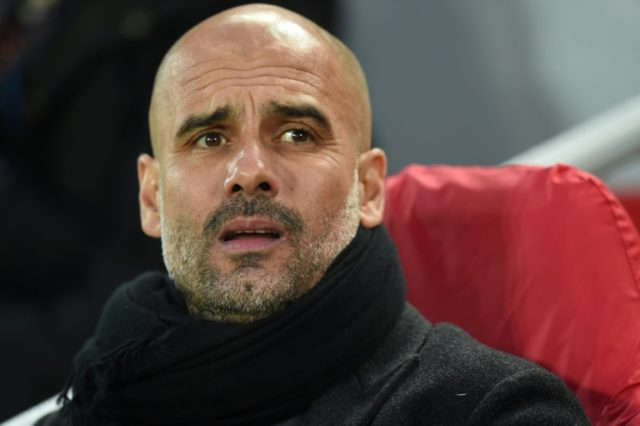 Pep Guardiola is bidding for his first Premier League title since joining Manchester City