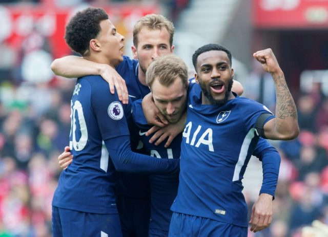 Eriksen double as Spurs consolidate top-four spot