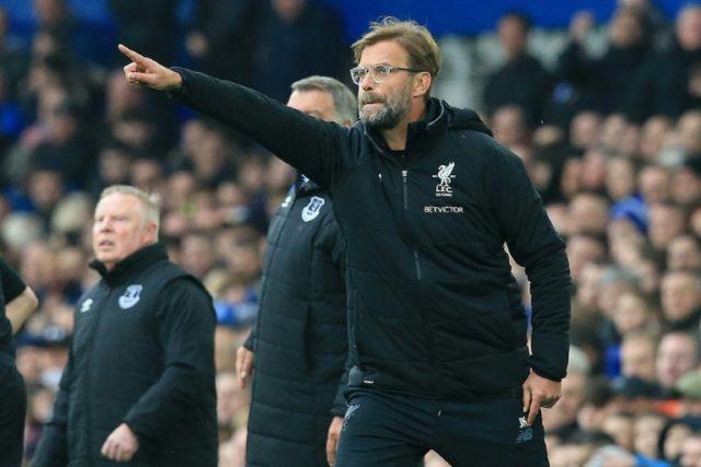 Jurgen Klopp's Liverpool missed impressive Egypt winger Mohamed Salah in a goalless draw with Everton at Goodison Park