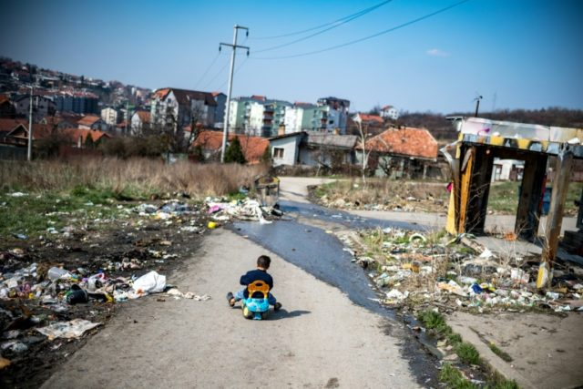 """Roma in Serbia are """"exposed to discrimination in almost all areas of life"""", a 2016 European Commission report on the country said"""