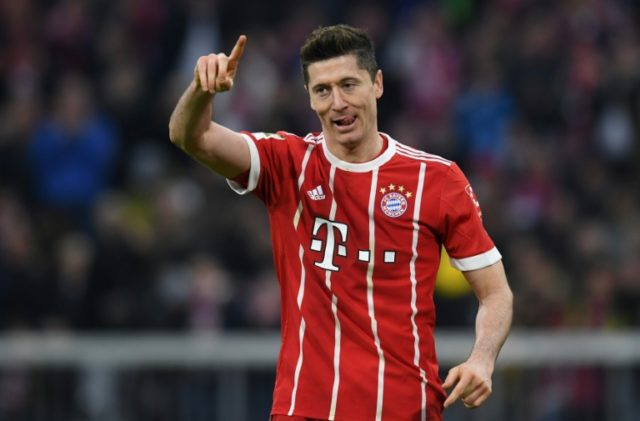 Robert Lewandowski's 35 goals in 39 games helped Bayern Munich land a sixth successive Bundesliga title and attracted envious glances from Real Madrid