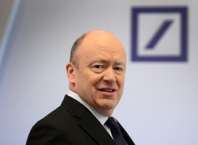 John Cryan, CEO of Germany's Deutsche Bank, acknowledged last month that financial results have not been as good as expected