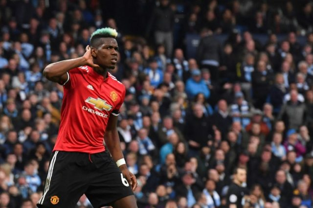 Pogba scored twice to silence the City fans in an incredible United comeback.