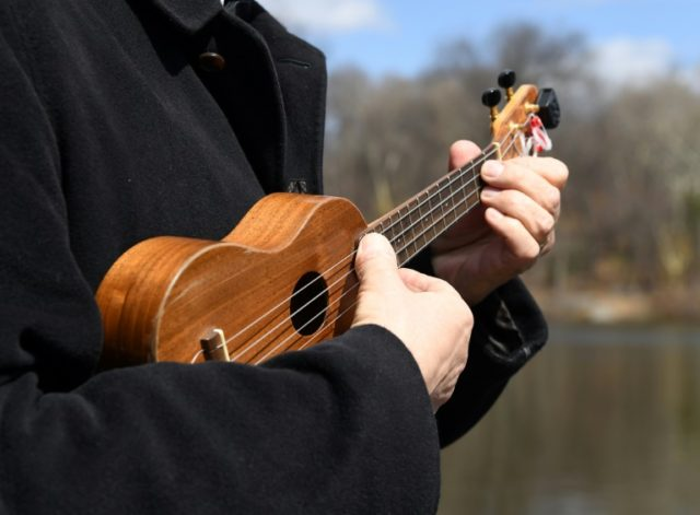 A member of the Ukulele Orchestra of Great Britain, which has managed to infuse the unassuming instrument with a punk-rock spirit, playing recently in New York's Central Park