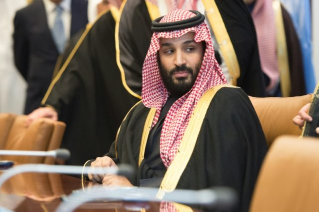 Saudi Arabia's crown prince arrives in France on Sunday on the next leg of his global tour