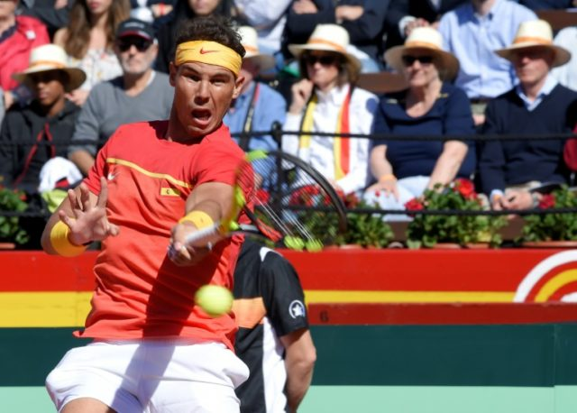 Rafael Nadal has helped Spain win the Davis Cup four times already