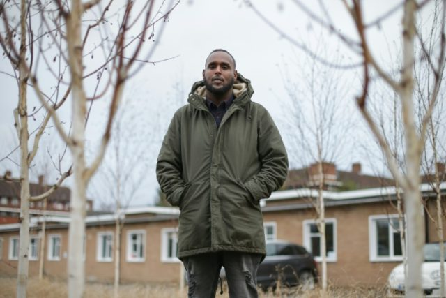 Abdi, a mentor at anti-gang charity Key4Life, tells youngsters gang life leads to a prison cell or the grave