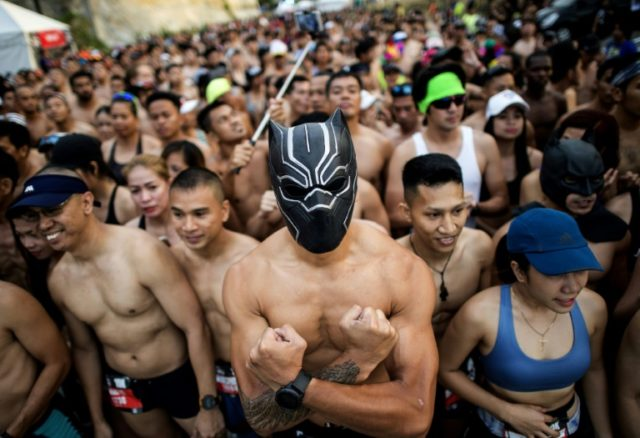 Manila's first-ever 'Underpants Run' drew crowds from dawn