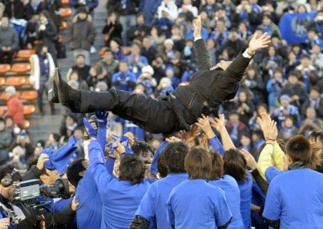 Akira Nishino is flying high