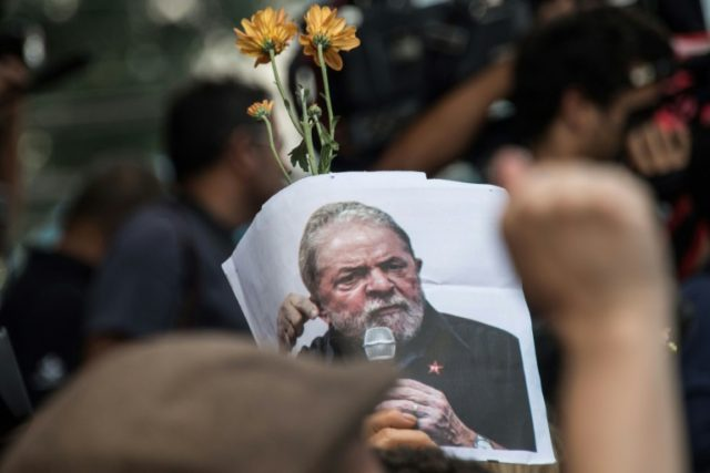 ormer president Luiz Inacio Lula da Silva's imprisonment on corruption charges is seen as creating further divisions in politically polarized Brazil