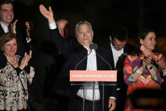 Viktor Orban has strong allies among European far-right parties