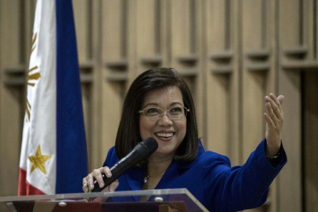 Philippine Chief Justice Maria Lourdes Sereno: under fire from Duterte