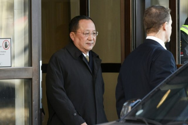 North Korean Foreign Minister Ri Yong Ho will discuss in Moscow ways to resolve tensions on the Korean peninsula, Russia's foreign ministry said, three weeks after he met with top Swedish officials