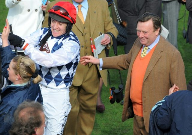 British training great Nicky Henderson still trying to solve the Grand National riddle