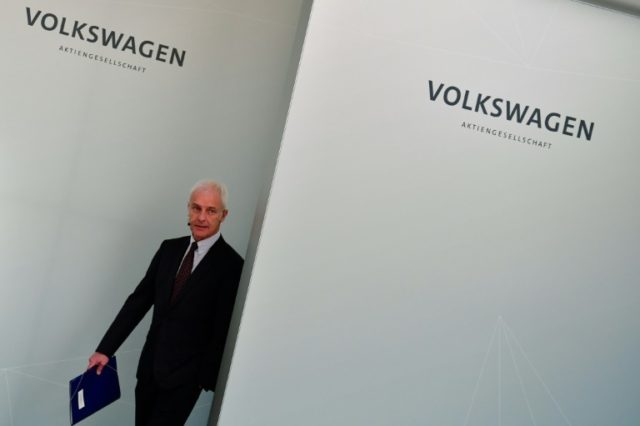 Going, going, gone? Matthias Mueller's fate at Volkswagen seems to be hanging in the balance