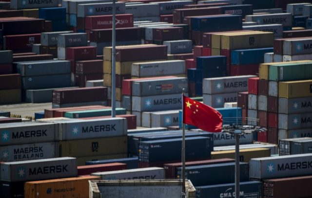 China's President Xi Jinping's speech comes a fears grow about a possible trade war with the United States