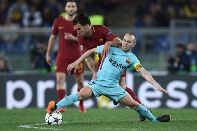 Andres Iniesta admitted Barcelona's shock defeat to Roma was 'painful'
