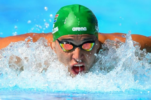 South Africa's Chad le Clos became the most decorated swimmer in Commonwealth Games history.