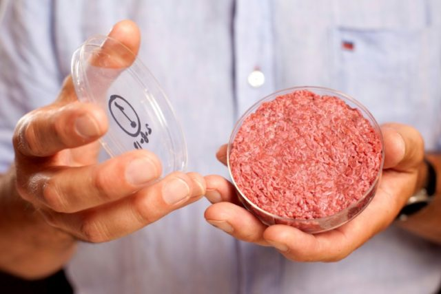 """US farmers and beef producers have joined forces to convince the government to prevent the """"meat"""" label to be used on anything that is grown in a lab, rather than on the hoof"""