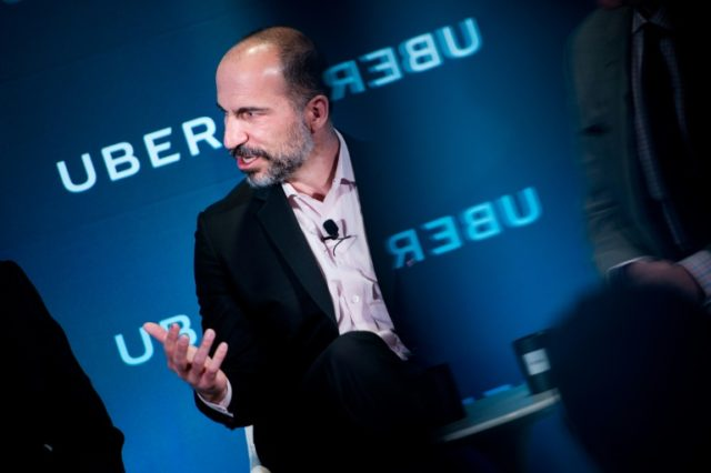 Uber CEO Dara Khosrowshahi during a visit to Washington DC outlined plans to allow its mobile app to be used for mass transit, bike-sharing and other options besides ridesharing