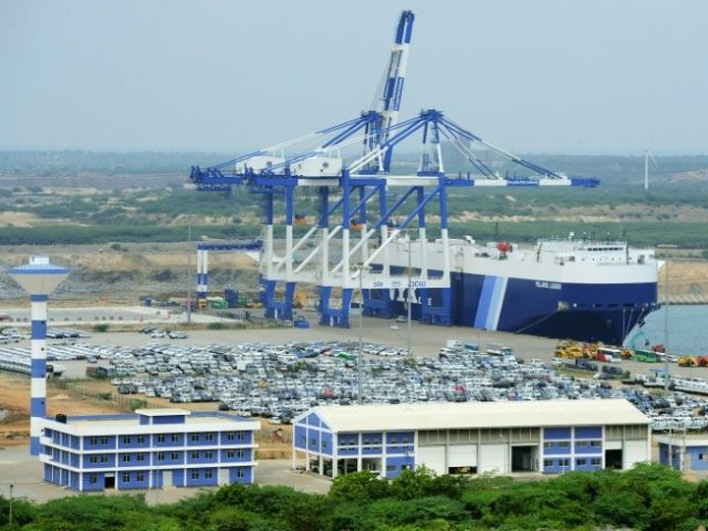 Sri Lanka had to had back control of the Chinese-built Hambantota Port back to Beijing after struggling to repay its debts from the project