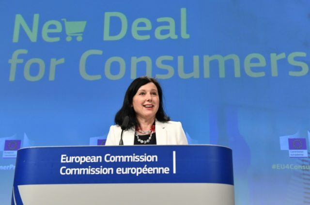 "European commissioner for consumers Vera Jourova said authorities ""will finally get teeth to punish the cheaters""."