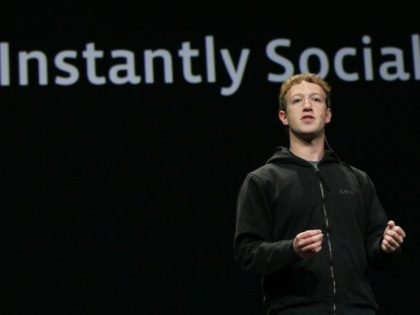 Mark Zuckerberg is seen at the Facebook developer conference in 2010, at a time of rapid growth of the social network