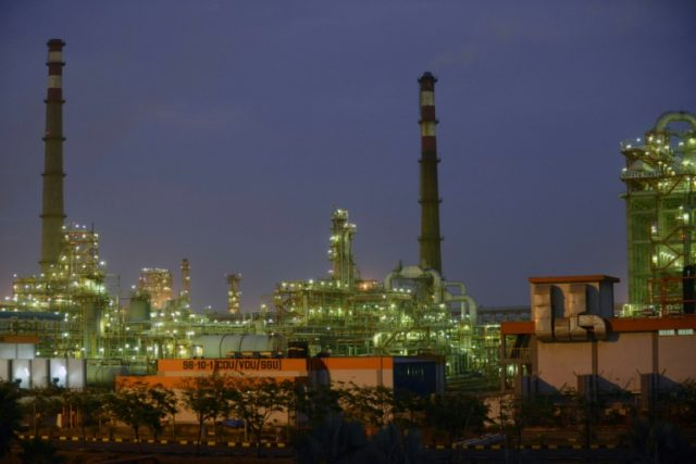 The new refinery will help meet India's fast growing demand for energy