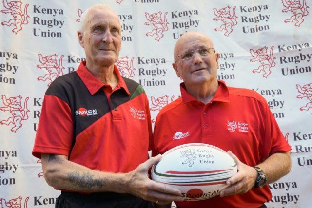 Kenya's new Rugby coach the Kiwi Ian Snook