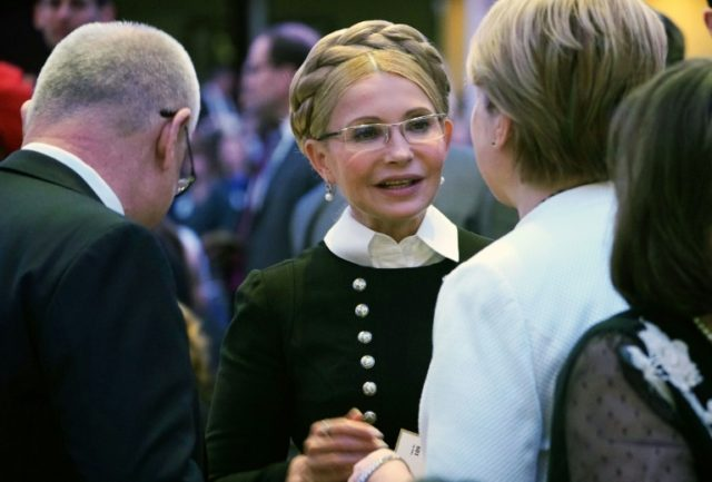 Former Ukraine prime minister Yulia Tymoshenko,seen here in Washington in February, has already spent time in prison