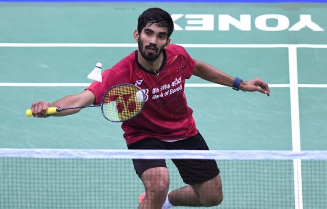 Kidambi Srikanth is the first Indian to reach number one in the men's world badminton rankings
