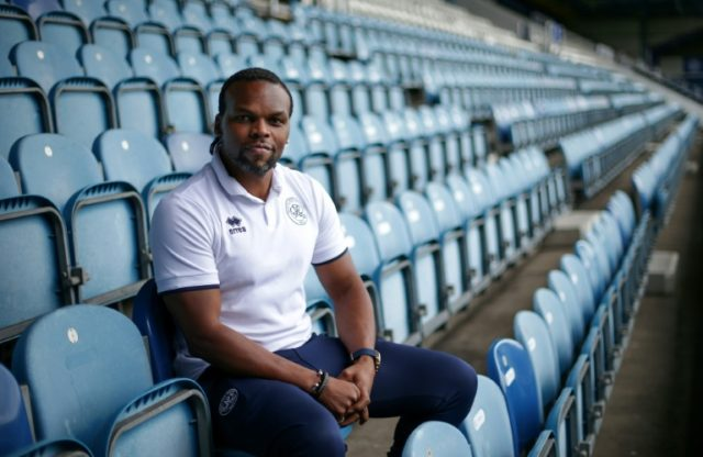 Pablo Blackwood, a former England youth international, works for Queens Park Rangers community trust