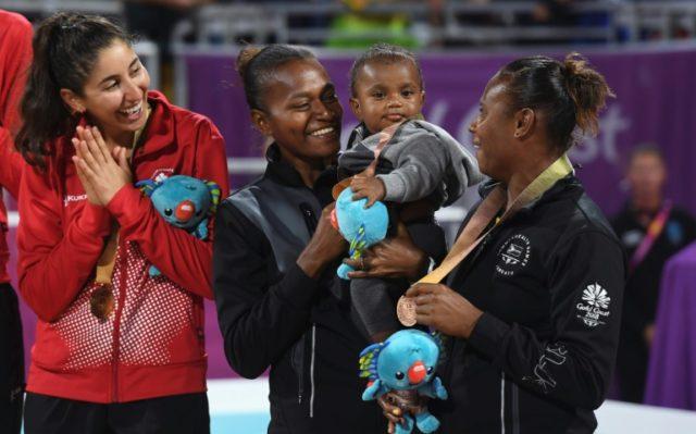 Miller Pata and Linline Matauatu won Vanuatu's first ever Commonwealth Games medal.