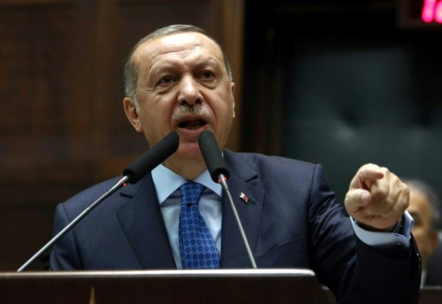 Erdogan worried by world powers' 'arm wrestling' on Syria