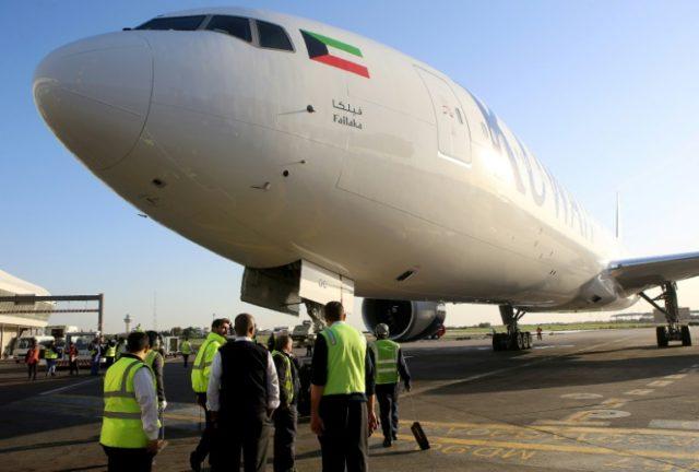 Kuwait Airways halts Beirut flights as Syria tensions grow