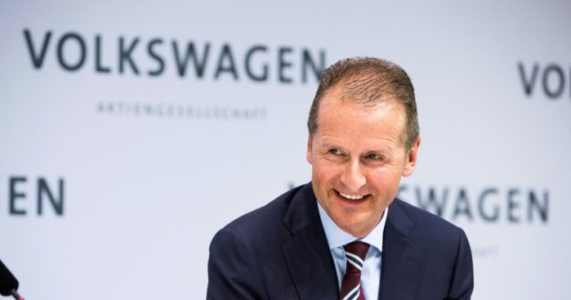 German carmaker Volkswagen has named Herbert Diess as its new chief executive as part of a major management shake-up
