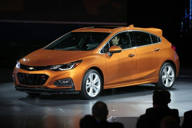 Sales of the Chevy Cruze dropped 32 percent in the last four years as Americans have shunned small cars in favor of SUVs, prompting General Motors to cut back on production