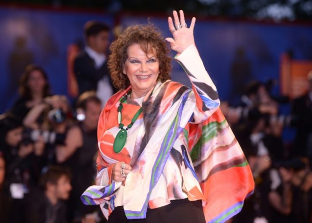 'Time passes': Claudia Cardinale at the Venice Film Festival last September