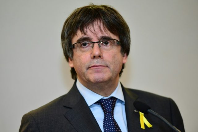 Puigdemont was detained in Germany late last month after Spain issued a European arrest warrant