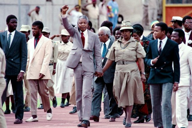 Most of Winnie Mandela's 38-year marriage to Nelson was spent apart, leaving her to raise their two daughters alone as she kept his political dream alive