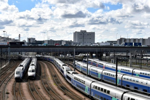 The impact of a French rail strike seems to be easing